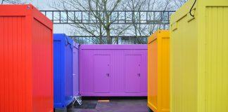 Das Containerprojekt für obdachlose Frauen. Foto: Maja Andresen
