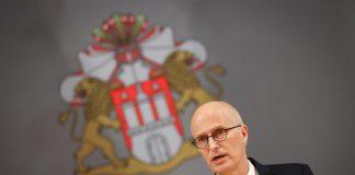 Büregermeister Peter Tschntscher spricht sich für schärfere Corona-Maßnahmen aus.