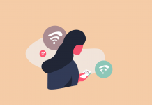 Schlechtes Wlan im Homeoffice Illustration