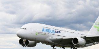 Airbus Flugzeug startet