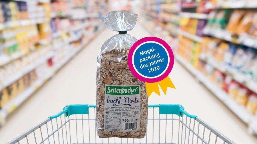 Mogelpackung 2020 Seitenbacher Frucht Müsli