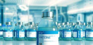COVID Impfung steht bereit