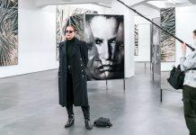 Katharina Sieverding Interview am 05.11.2020 in der Installation