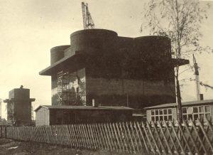 Energiebunker Bau 1943