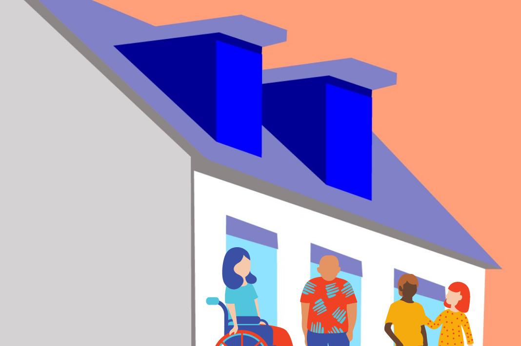 Corona im Wohnheim: Wie verändert sich der Alltag für Studierende?Studierende im Wohnheim.