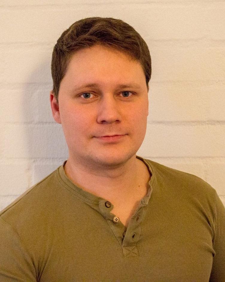 """Sergej Zhilinski wohnt im Studierendenwohnheim """"Die Burse""""."""