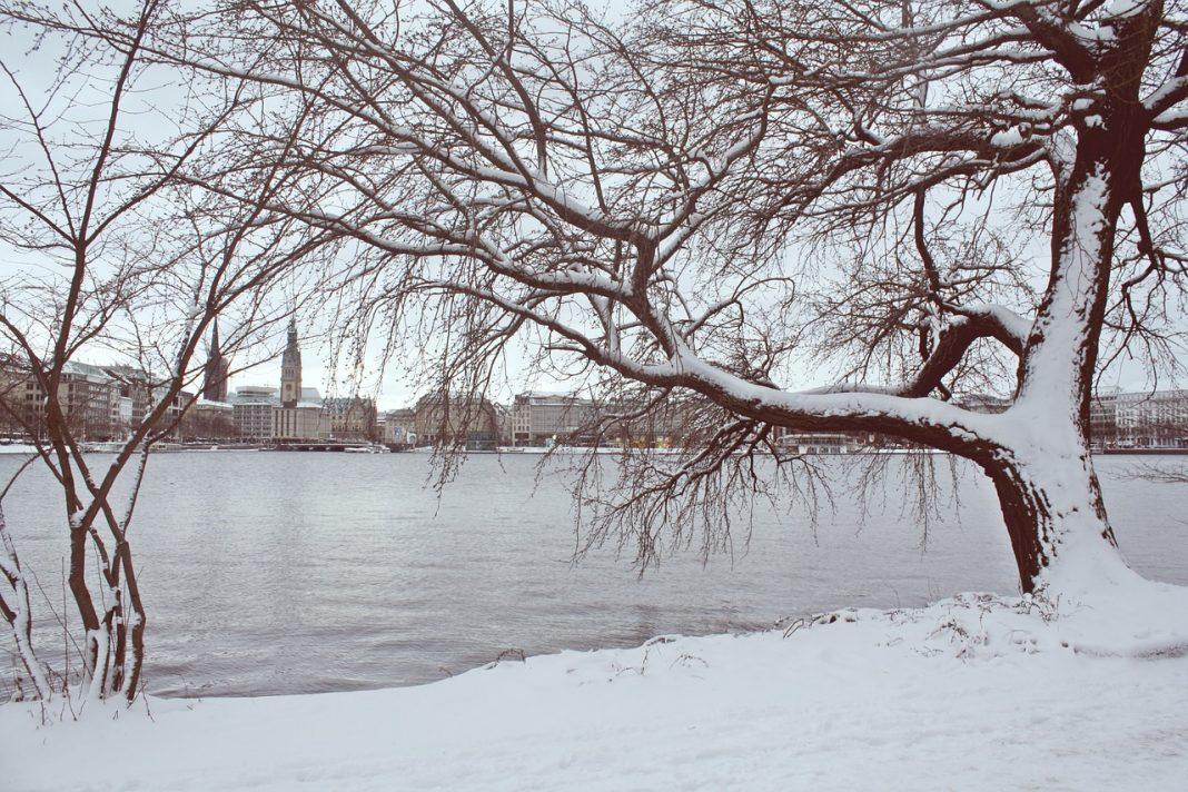 Am Wochenende könnte es in Hamburg wieder schneien.