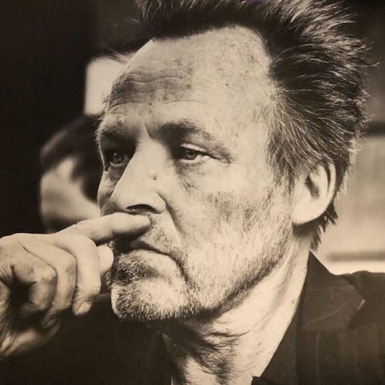 Schwarz-weiß Portrait von Hans-Peter Jansen