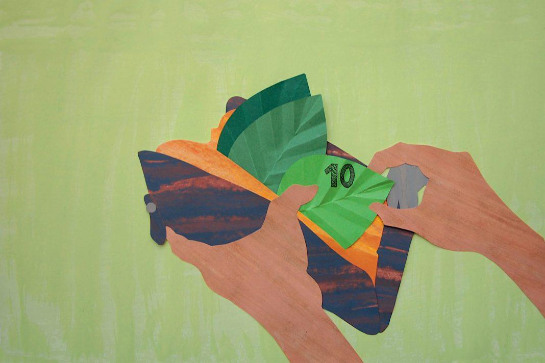 nachhaltig, green banking, tomorrow, geld