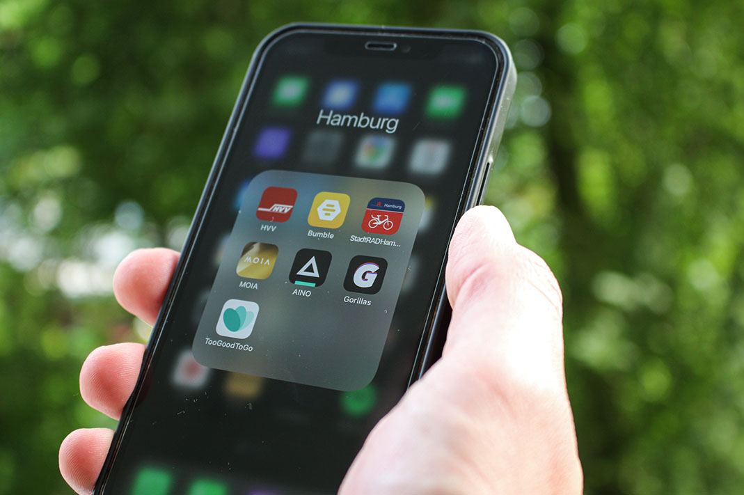 7 hilfreiche Apps in Hamburg