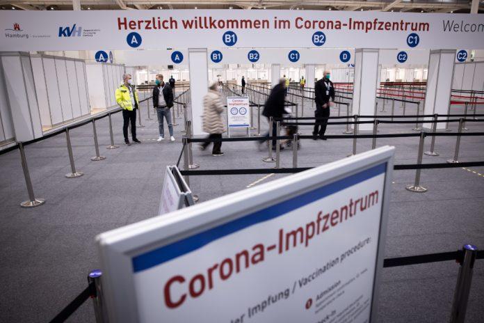 Hamburger Corona-Impfzentrum/ Corona Lockerungen