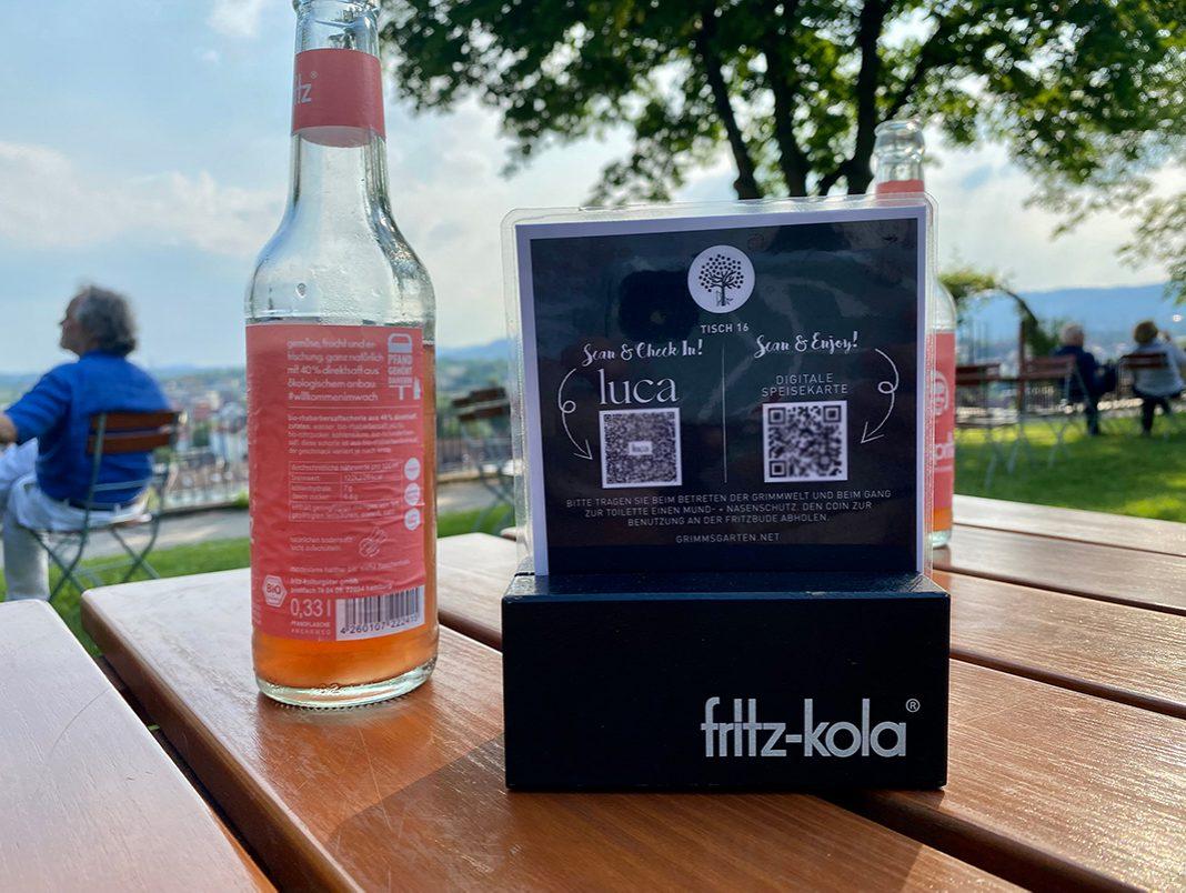 Luca-App wird in vielen Lokalen, Bars oder Geschäften genutzt.