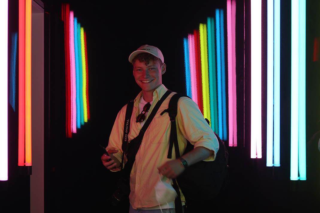 Neonlicht als Alleinstellungsmerkmal