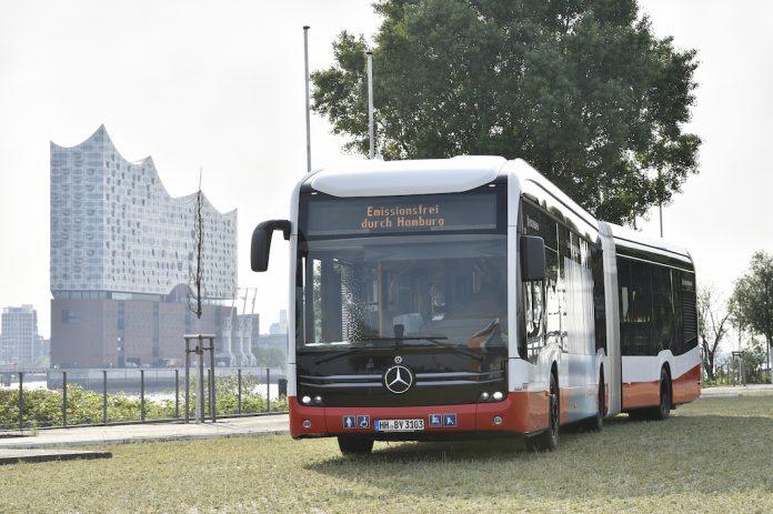Hamburger Hochbahn AG und VHH schaffen neue E-Gelenkbusse an. Foto: Hochbahn