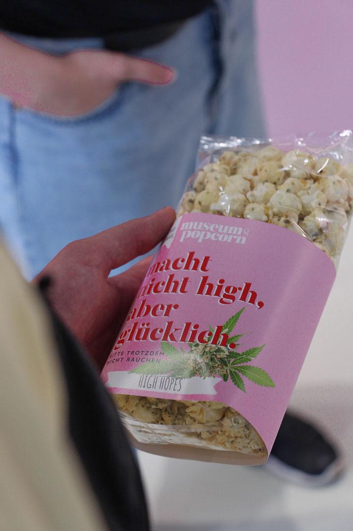 Popcornverkauf im Museum