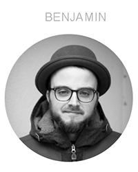 Ein Portrait von Benjamin