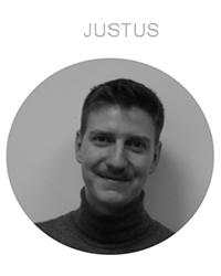 Ein Portrait von Justus