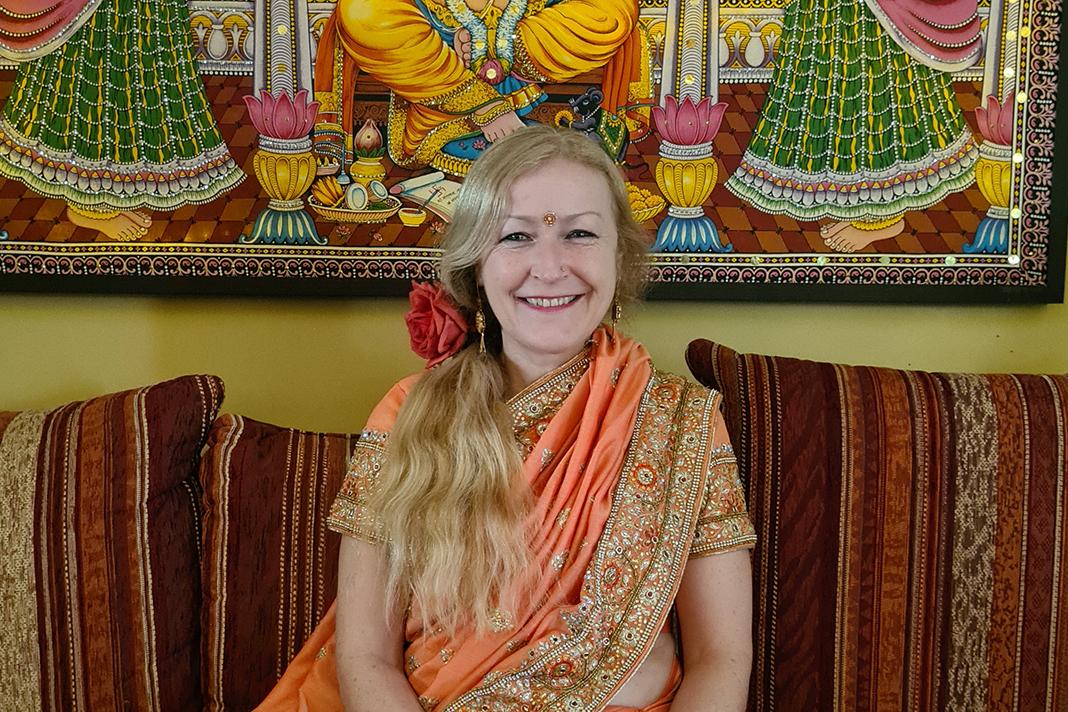 Ein Portrait von Kathrin Guthmann, ehemaliger Besitzerin des indischen Restaurants