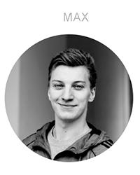 Ein Portrait von Max