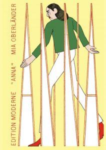 """Der Comic """"Anna"""" von Mia Oberländer wird Anfang September 2021 bei Edition Moderne erscheinen."""