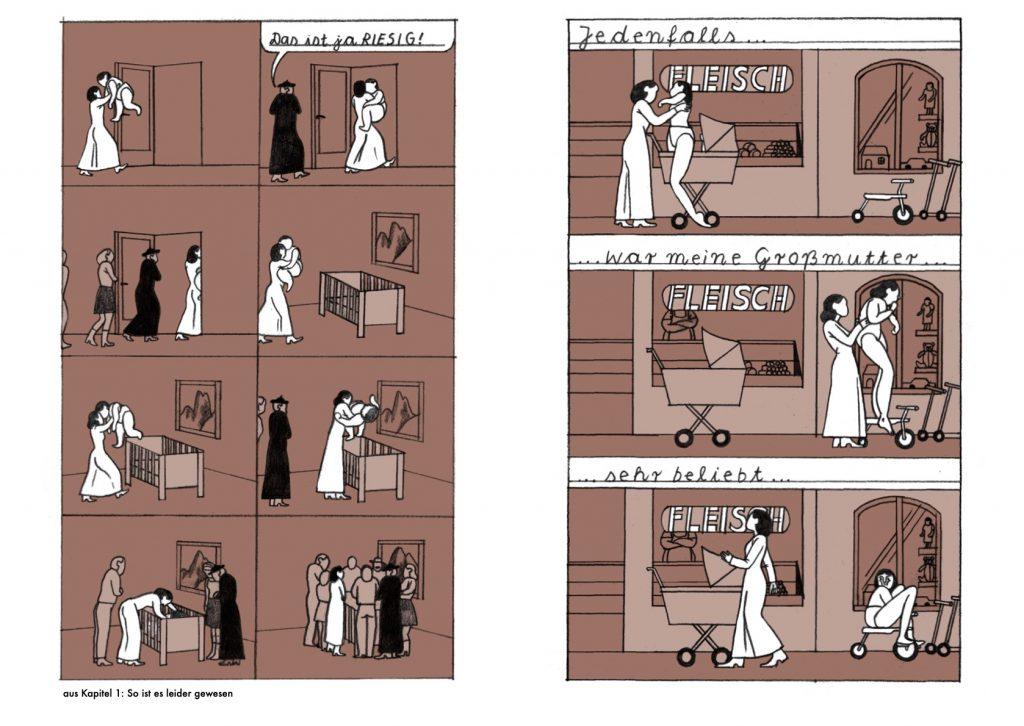 """Ausschnitt aus dem Comic """"Anna"""""""